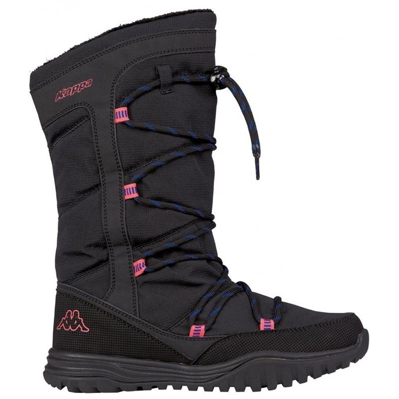 Dámska zimná obuv stredná KAPPA HUSKY BLACK PINK - Dámska vychádzková obuv  značky Kappa v 2253129463e