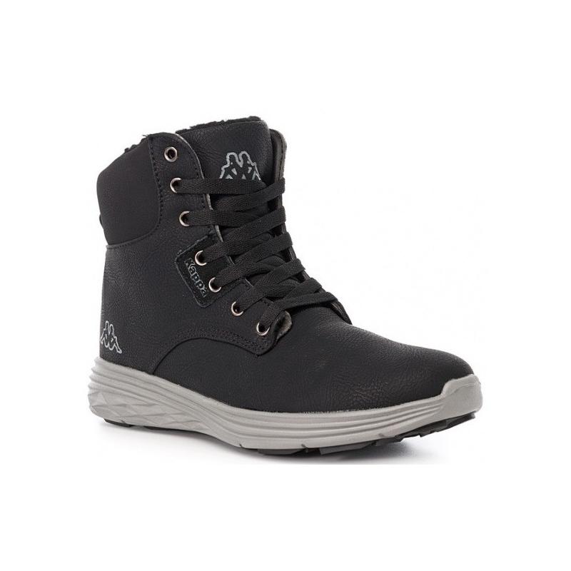Dámska zimná obuv stredná KAPPA OAK II BLACK GREY - Pánska vychádzková obuv  značky Kappa 92dfbf3c9af
