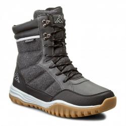 Pánska zimná obuv stredná KAPPA ISLAND ANTHRA/BLACK