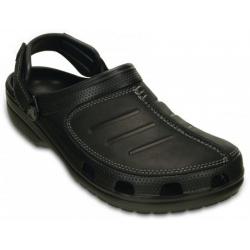 Pánska rekreačná obuv CROCS-Yukon Messa Clog M BLK/BLK