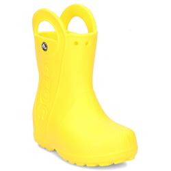 Detské gumáky CROCS-Handle It Rain Boot Kids Yellow