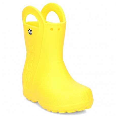 Dětské gumáky CROCS-Handle It Rain Boot Kids Yellow