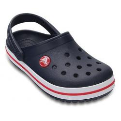 Detské kroksy (rekreačná obuv) CROCS-Crocband Clog K Navy/Red