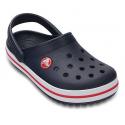 Detské kroksy (rekreačná obuv) CROCS-Crocband Clog K Navy/Red - Detská obuv značky Crocs v klasickom dizajne.