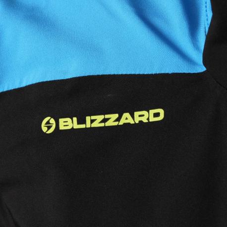 Pánska lyžiarska bunda BLIZZARD MEN-Stubai-Black/Blue - Pánska lyžiarska bunda značky Blizzard.