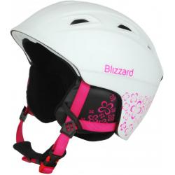 Lyžiarska prilba BLIZZARD DEMON ski helmet junior, white matt/magenta flow