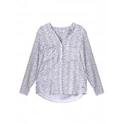 Dámska košeľa s dlhým rukávom VOLCANO-K-IBBIE-WOMEN-White
