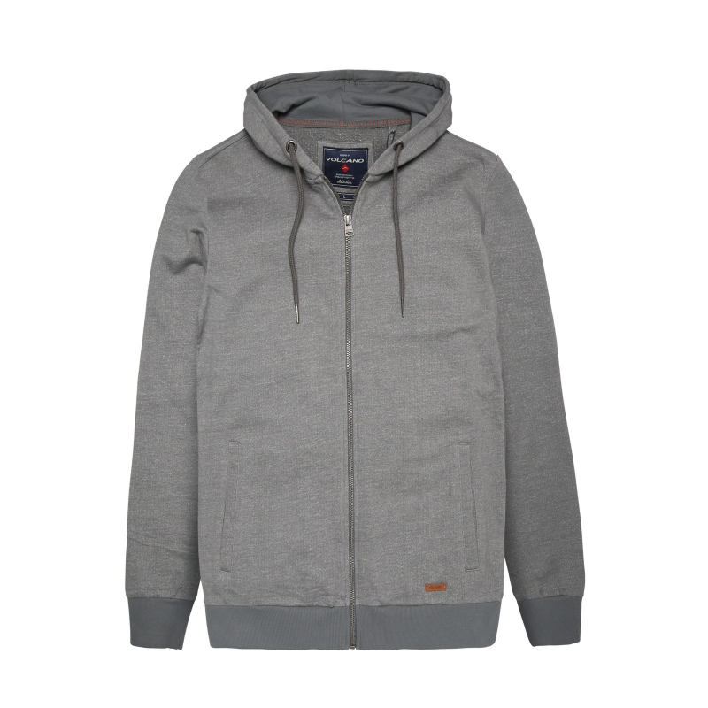 6a4bf4d13 Mikina s kapucňou VOLCANO-B-FOREST-MEN-Grey dark | EXIsport Eshop