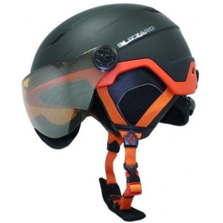 Lyžiarska prilba so štítom BLIZZARD Double Visor ski helmet, black matt/neon orange - Lyžiarska prilba značky Blizzard bola navrhnutá a vyvinutá tak aby poskytovala užívateľovi komfort a maximálnu bezpečnosť.