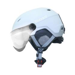 Lyžiarska prilba BLIZZARD Viva Double Visor ski helmet, white matt/silver
