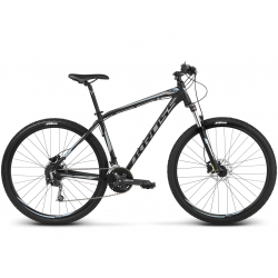 "Horský bicykel KROSS-29"" - Hexagon 7.0 - black graphite steel"