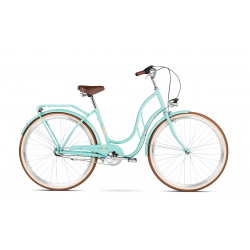 """Dámsky mestský bicykel LE GRAND-28"""" - Madison 3 - celadon glossy + darček"""
