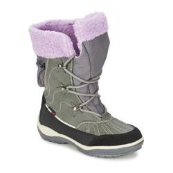 Juniorská zimná obuv vysoká KangaROOS-KangaSnowGirls 2020 grey