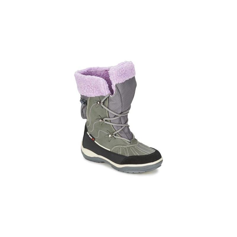 Juniorská zimní obuv vysoká KangaROOS-KangaSnowGirls 2020 grey 37 Šedá