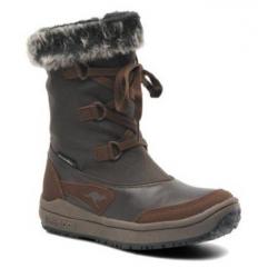 Dámska zimná obuv vysoká KangaROOS-Kanga-Tex 2030 brown