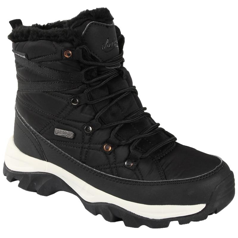 Dámska zimná obuv stredná AUTHORITY-FILONA black - Dámska zimná obuv značky  Authority v modernom d5e781a1c8e