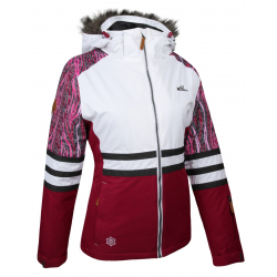 Dámska lyžiarska bunda AUTHORITY-RAWNA dk red