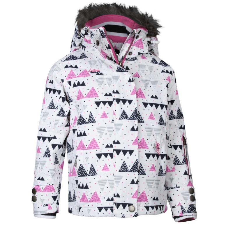 Detská lyžiarska bunda AUTHORITY-KIDD G white - Detská lyžiarska bunda  značky Authority v dievčenskom 97b302c32d1