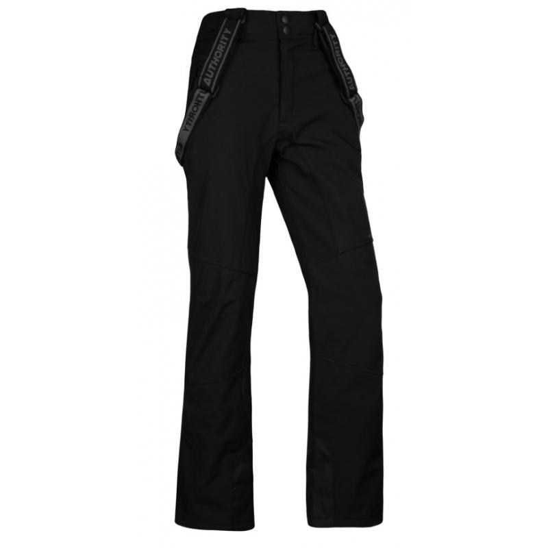 7c7a0794fc37 Pánske lyžiarske softshellové nohavice AUTHORITY-NISENO black - Pánske  lyžiarske nohavice značky Authority v športovom