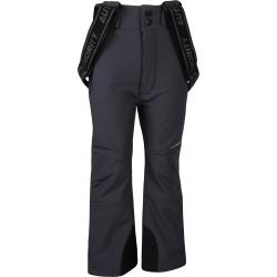 Detské lyžiarske softshellové nohavice AUTHORITY-NISENO B dk grey