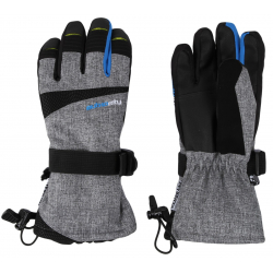 Lyžiarske rukavice AUTHORITY-GOLDONY grey