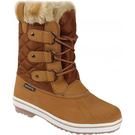 Dámska zimná obuv vysoká AUTHORITY-SARA - Sega beige