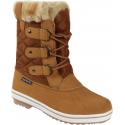Dámska zimná obuv vysoká AUTHORITY-SARA - Sega beige - Dámska zimná obuv značky Authority.