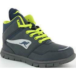 Juniorská rekreačná obuv KangaROOS-BlueRun 2080A navy-lime