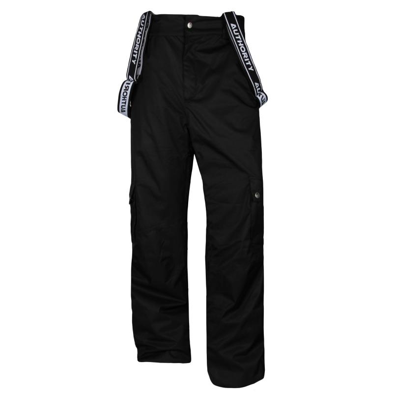 e58eddaa8 Pánske lyžiarske nohavice AUTHORITY-PAMNOM black