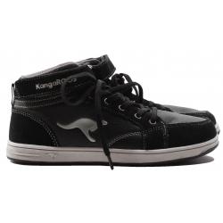 Juniorská rekreačná obuv KangaROOS-Kanga Stuu 2013 black gray
