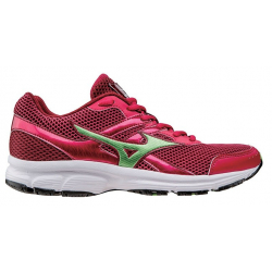Dámska bežecká obuv MIZUNO-Spark RaspberryWine/BudGreen/S