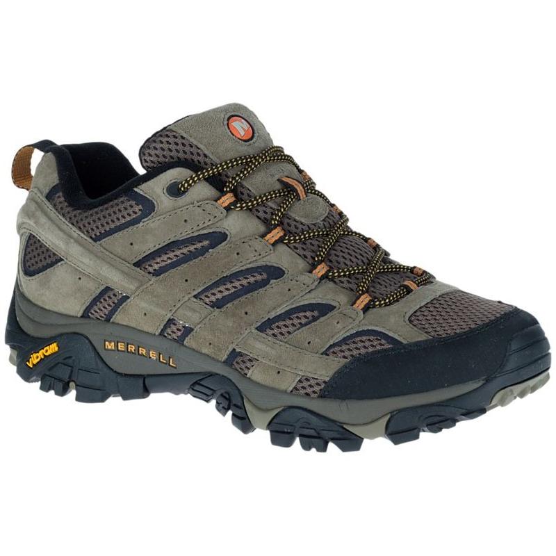Pánska turistická obuv nízka MERRELL-MOAB 2 VENT WALNUT - Pánska turistická  obuv značky Merrell 5cc329d4152