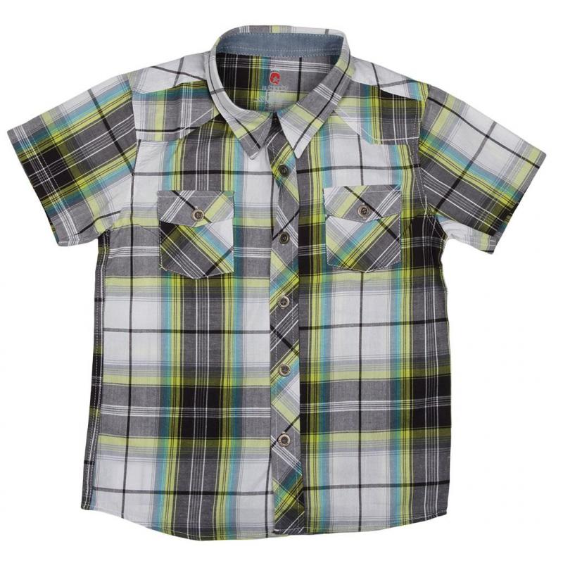 231c1824794c Chlapčenská košeľa s krátkym rukávom AUTHORITY-CAMMY yellow -