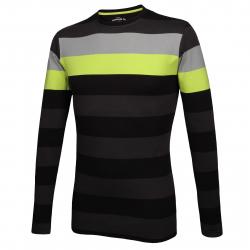 Pánske tričko s dlhým rukávom AUTHORITY-TERNO black