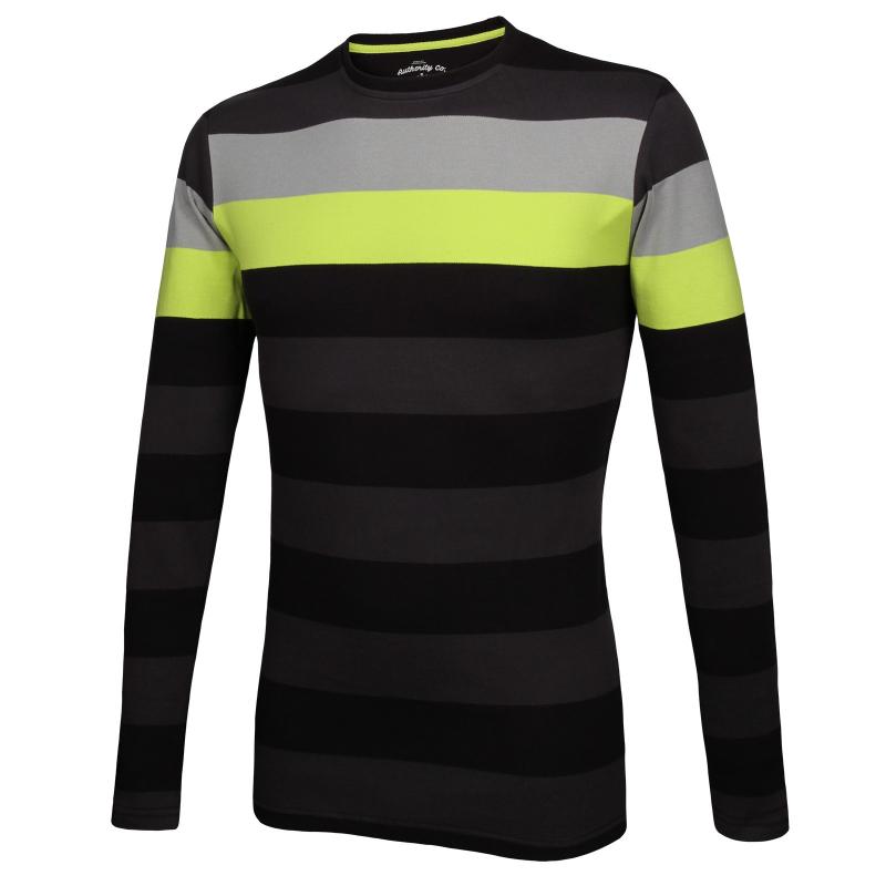 ec8916cab8c1 Pánske tričko s dlhým rukávom AUTHORITY-TERNO black - Pánske tričko značky  Authority.