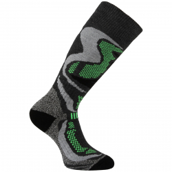 Lyžiarske podkolienky (ponožky) VOXX-CARVING - grey