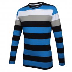 Pánske tričko s dlhým rukávom AUTHORITY-TERNO blue