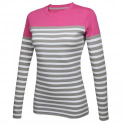 Dámske tričko s dlhým rukávom AUTHORITY-TERNA pink