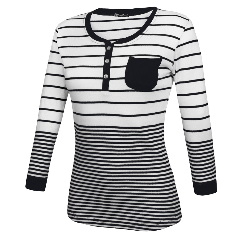 5ef26bcee3ff Dámske tričko s dlhým rukávom AUTHORITY-TESSY blue - Dámske tričko s dlhým rukávom  značky