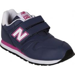 Detská rekreačná obuv NEW BALANCE-KV373BCY-Dark Blue-Pink