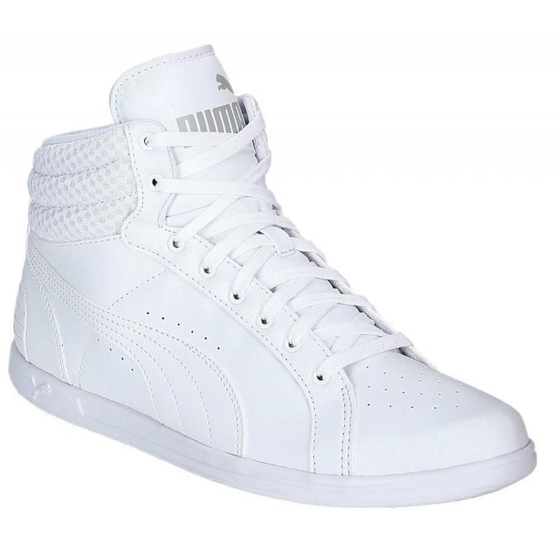 c20f83b115a36 Dámska rekreačná obuv PUMA-Ikaz Mid v2 Puma White-Puma White