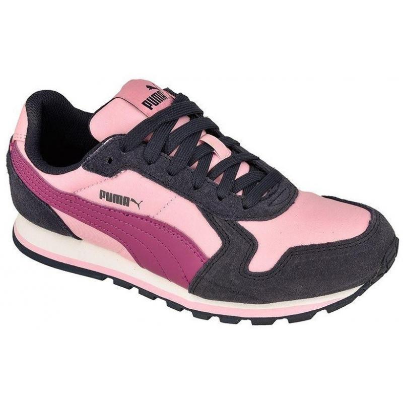 f5f1c6cfa Dámska rekreačná obuv PUMA-ST Runner NL Jr Pastel Lavender-Puma Whi -  Juniorská