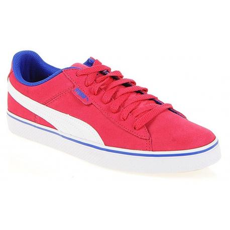 Juniorská vychádzková obuv PUMA-Puma 1948 Vulc Jr rose red-white