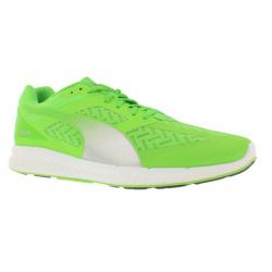 Pánska bežecká obuv PUMA-IGNITE PWRCOOL fluo green-puma silver