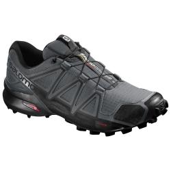 Pánska trailová obuv SALOMON-SPEEDCROSS 4 DARK CLOUD/Black/GY