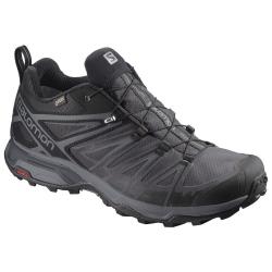 Pánska turistická obuv nízka SALOMON-X ULTRA 3 GTX Bk/Magnet/Quiet Shad