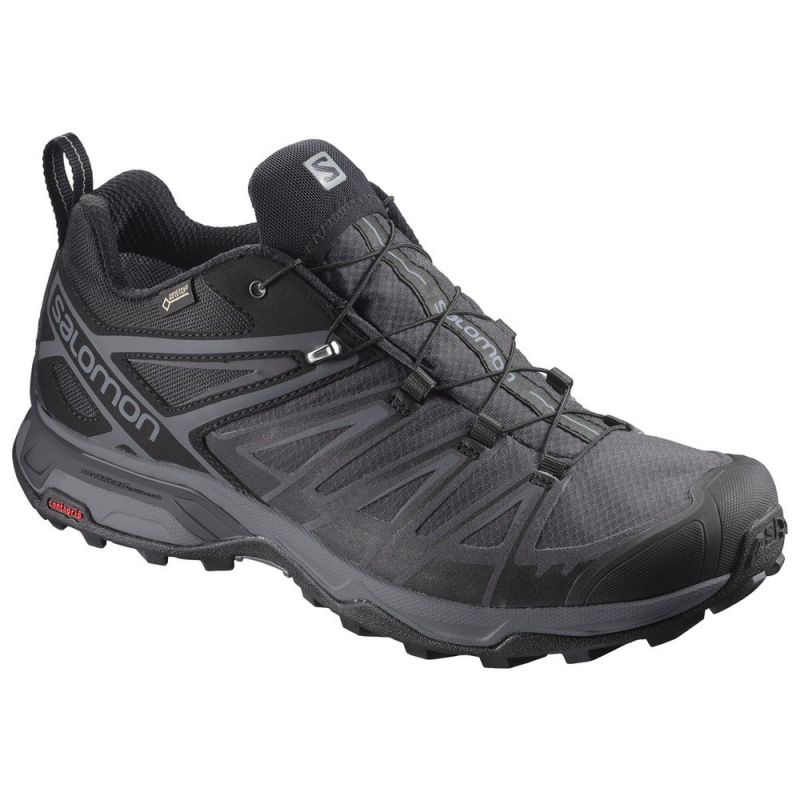 Pánska turistická obuv nízka SALOMON-X ULTRA 3 GTX Bk Magnet Quiet Shad 9b34c86b020