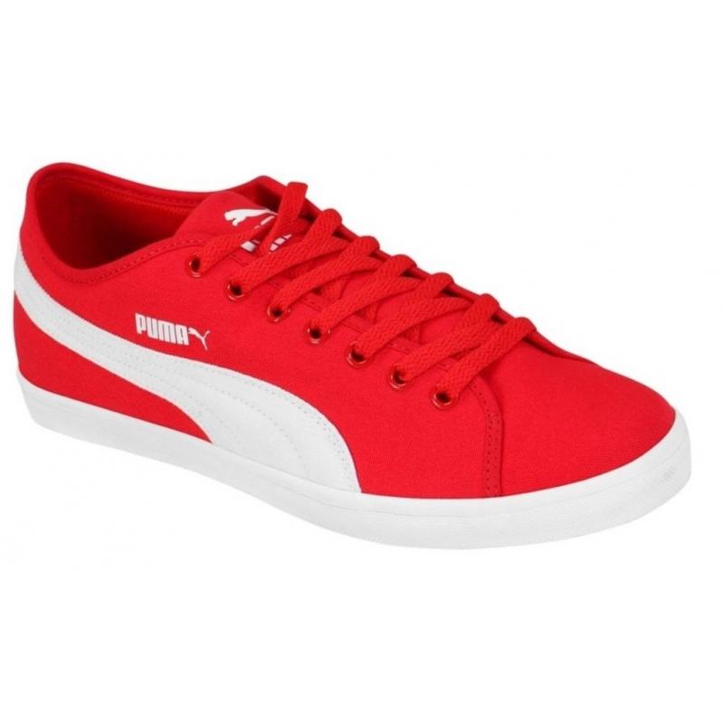 42a515357e919 Rekreačná obuv PUMA-Elsu CV high risk red-white-white - Pánska obuv
