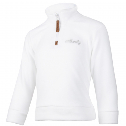 Dievčenská lyžiarska flisová mikina AUTHORITY-FELIAMA G white