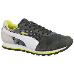 Vychádzková obuv PUMA-ST Runner Shades dark shadow-white-gray